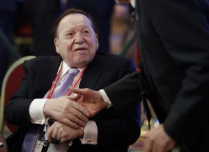 Casino magnate Sheldon Adelsonis Forbes' No. 20 billionaire, and was the second highest political donor in 2016.