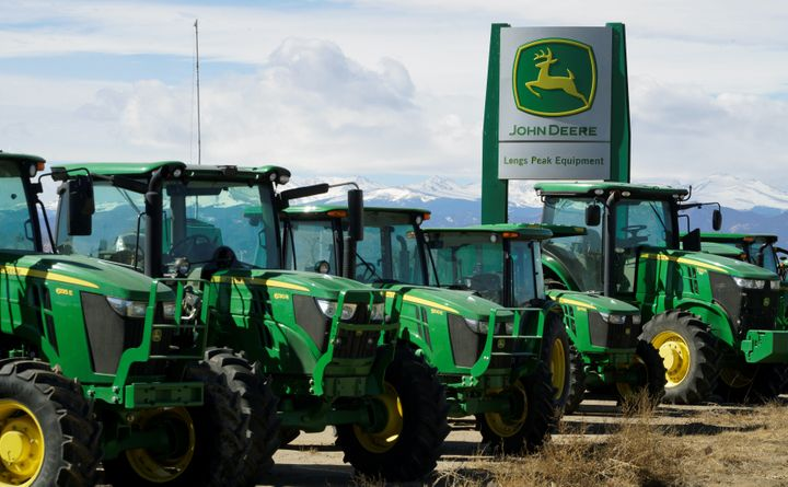 John Deere has laid off factory workers in recent years. REUTERS/Rick Wilking