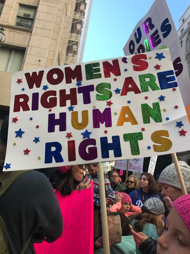 Women's March, Los Angeles