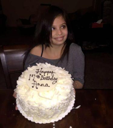 Annalicia on her 17th birthday.