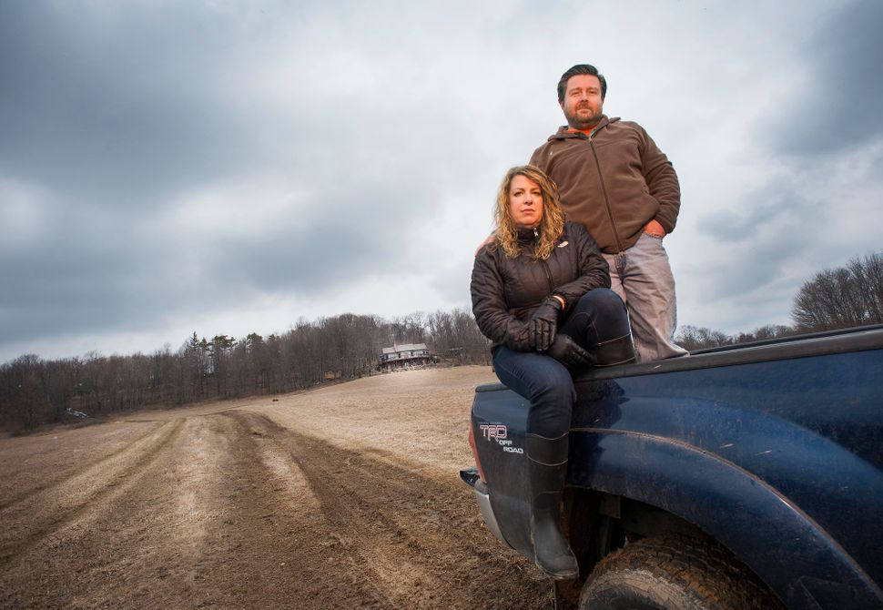 Stacy and Mark Long are fighting Pennsylvania General Energy's plan to convert an old well into an injection site for wastewa