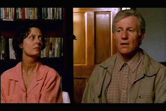 <strong><em>Susan Sarandon watches Raymond J. Barry's poignantly grieving father in Dead Man Walking </em></strong>