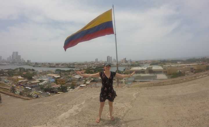 <p>                       I traveled to Colombia for free using the bonus reward from my Barclaycard</p>