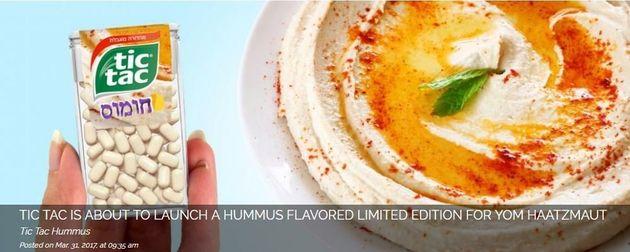 We do love hummus