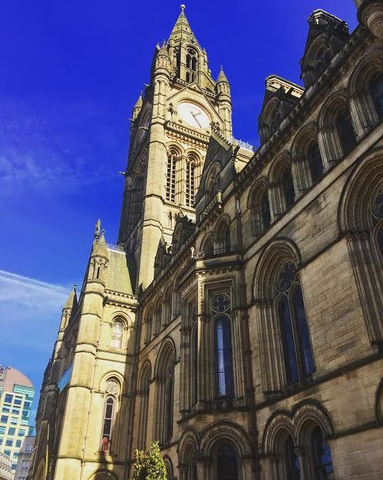<p>Manchester Town Hall</p>