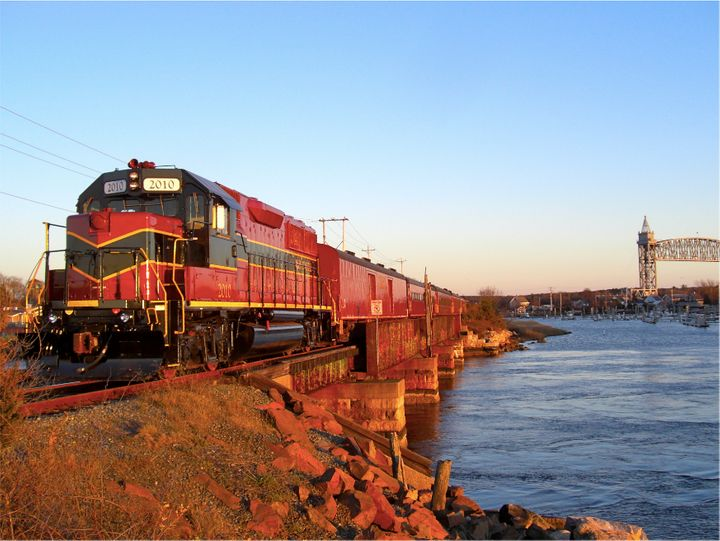 The Cape Cod Central Railroad shows off coastal Massachusetts.