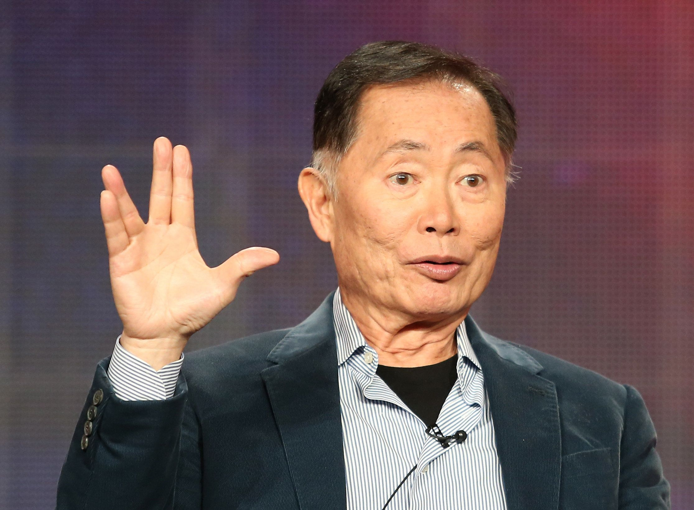 A lot of people seem to want George Takei to run for Congress.