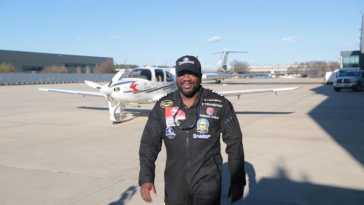 Meet 38-year-old Nigerian, Lola Odujinrin. The first African to fly around the world solo. Ranking as the 115th person in the