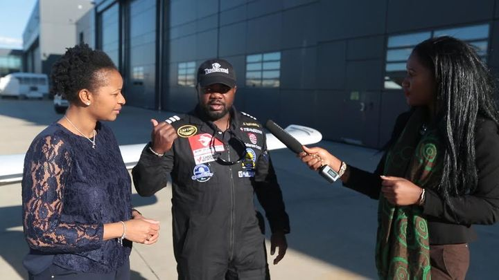 During my interview with Captain Lola and his supportive wife Cynthia at the Washington DC Dulles airport; March 29th 2017.
