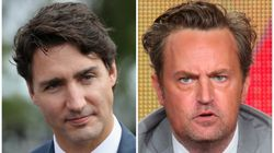 Justin Trudeau Challenges Matthew Perry To A Rematch Of Elementary School