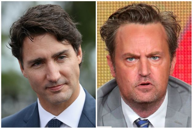 Matthew Perry once beat up Justin Trudeau. Now, Trudeau wants to defend