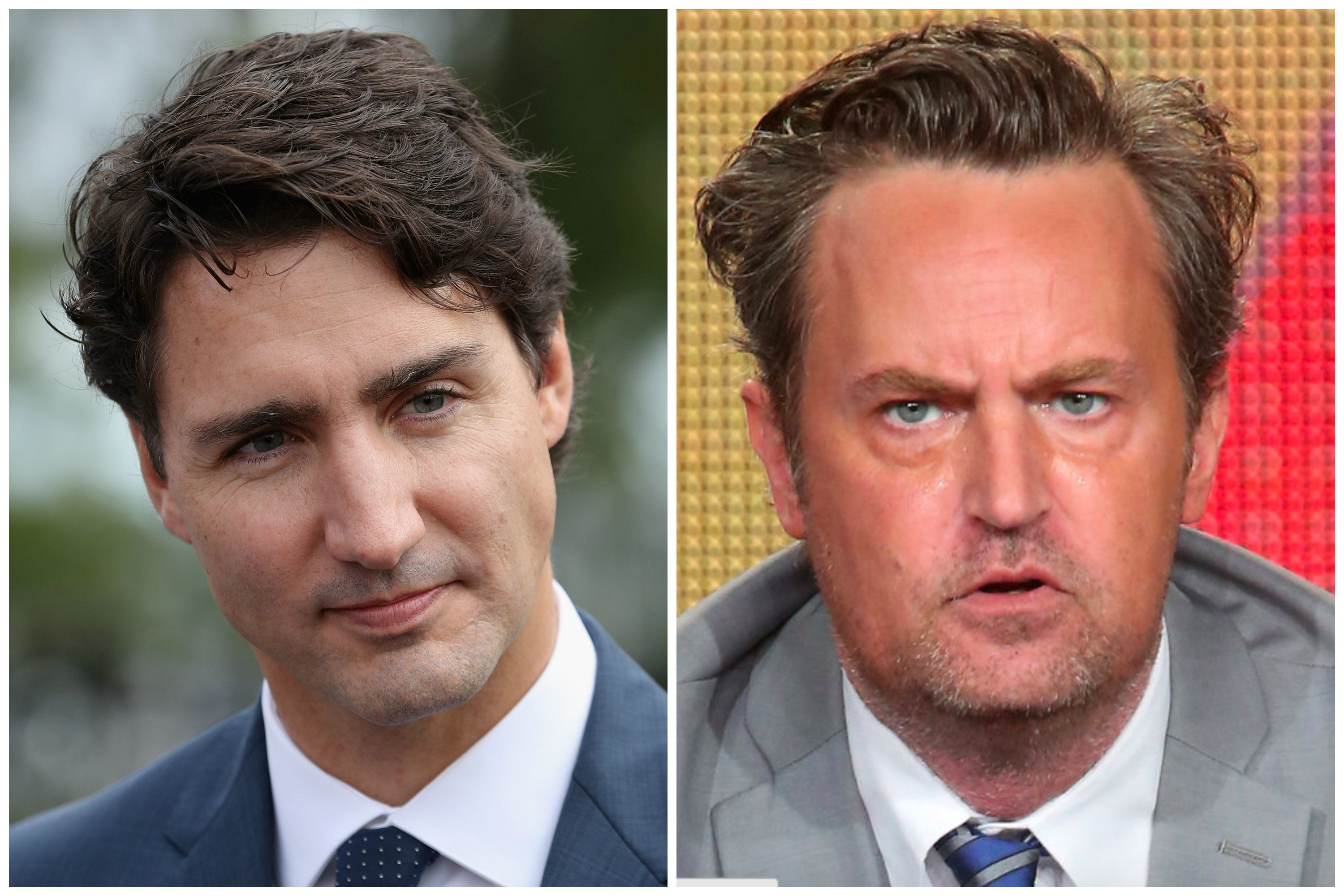 Matthew Perry once beat up Justin Trudeau. Now, Trudeau wants to defend himself.