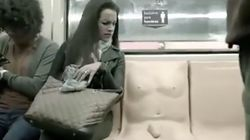 Subway Installs Weird As F*ck 'Penis Seat' To Combat Sexual