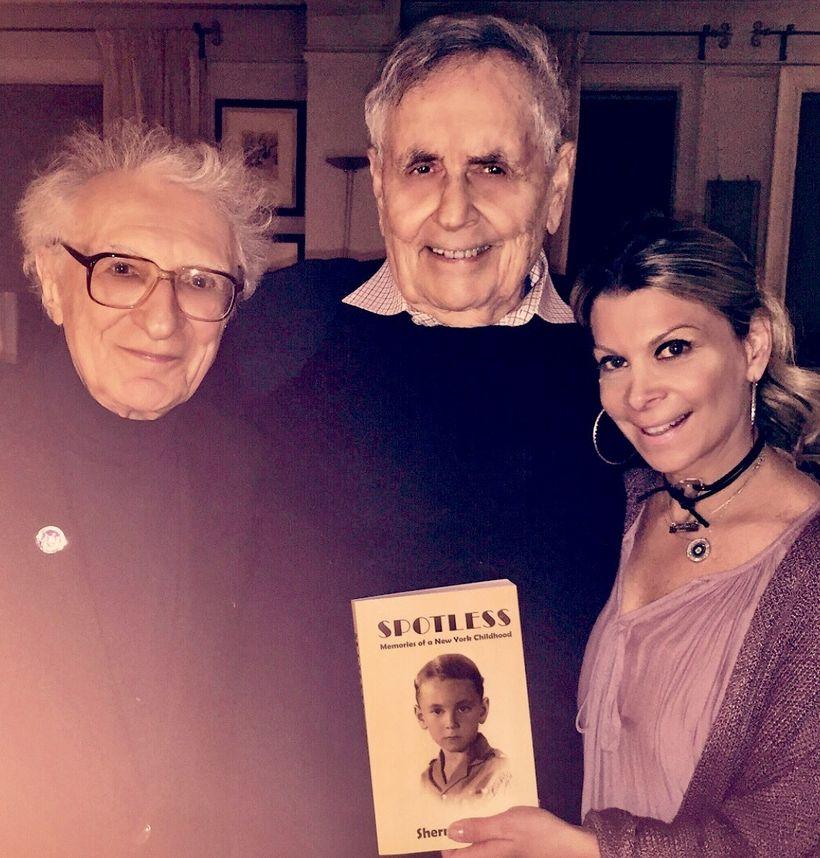 Sheldon Harnick, Sherman Yellen and me