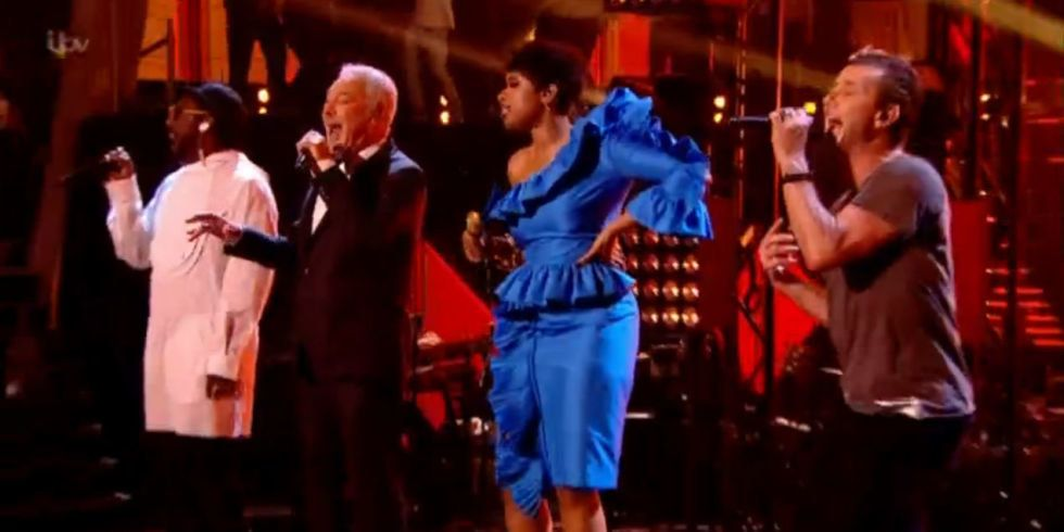 'The Voice UK' Judges Pay Tribute to George Michael With 'Freedom 90'