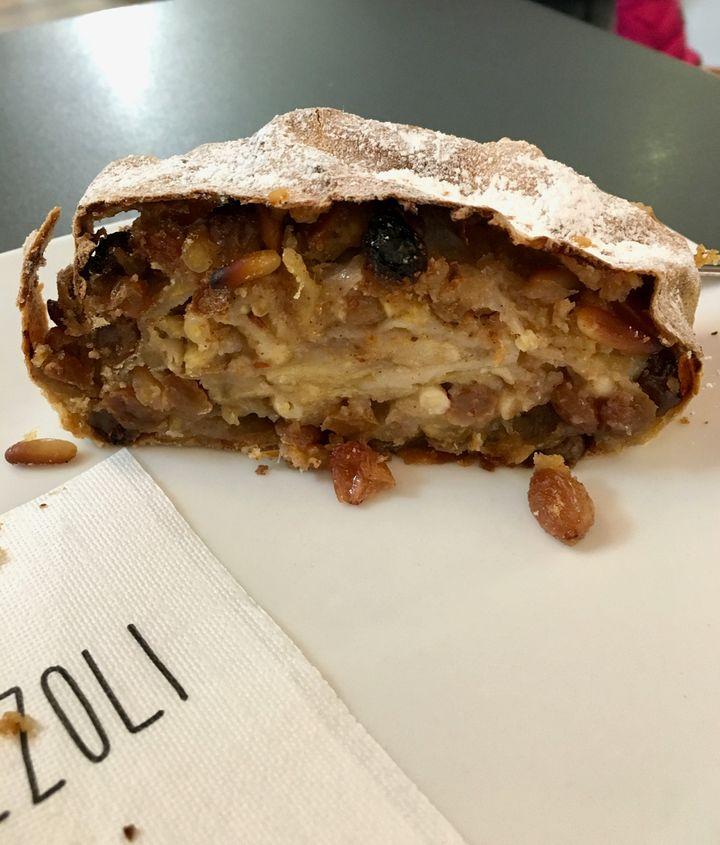 Strudel at Caffetteria Viezzoli in Trieste