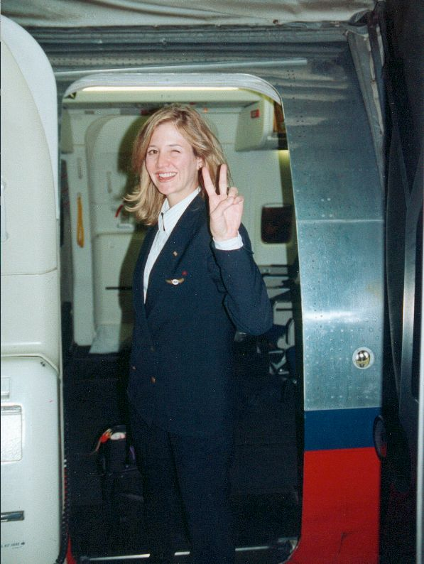 Christine flew for USAirways from 1989-1996
