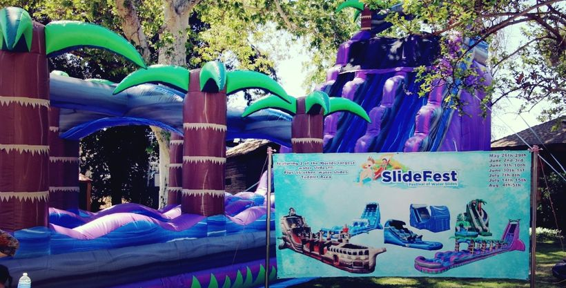 Slide Fest, opening Memorial Day Weekend 2017 at 9400 Alfred Harrell Hwy