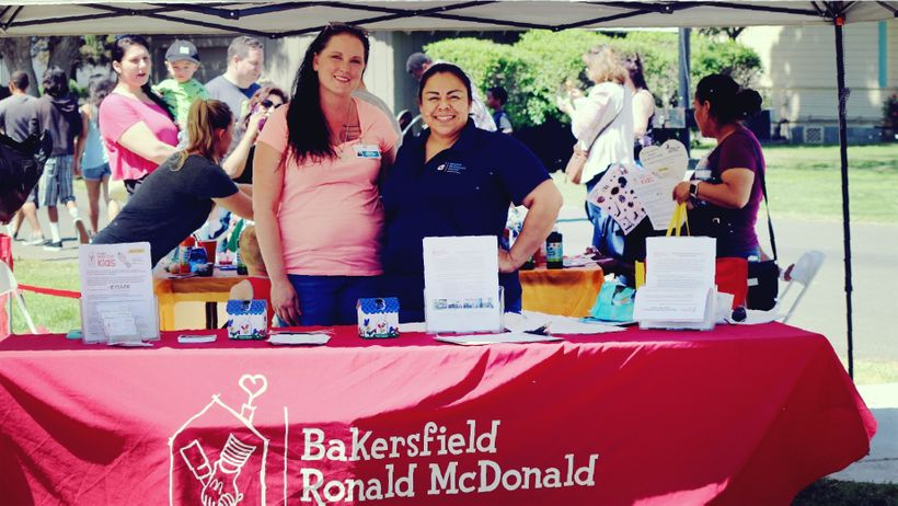 Bakersfield Ronald McDonald House Representatives