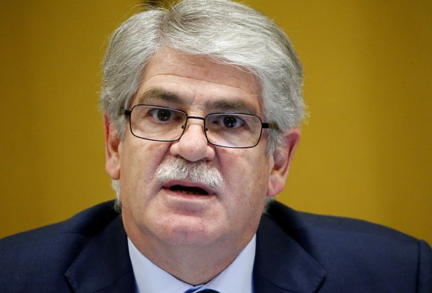 Spain's Foreign Minister Alfonso