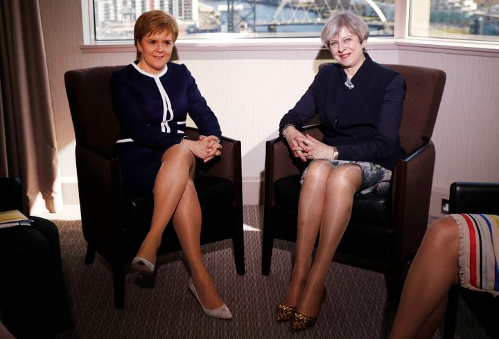 Scotland's First Minister Nicola Sturgeon and UK Prime Minister Theresa May met last week.