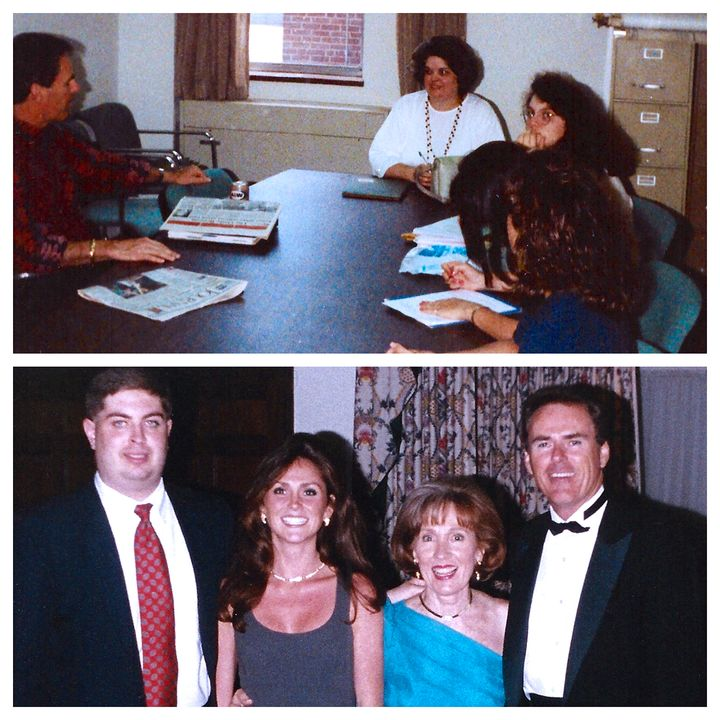 Safe Campuses Now's first meeting at UTK in 1991, and receiving the Jeanne Clery Campus Safety Award in 1994.