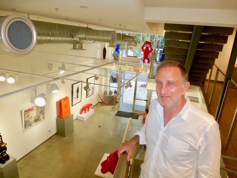 Owner Bernard Markowicz prides himself on being a purveyor of the finest pop art of today and yesterday.