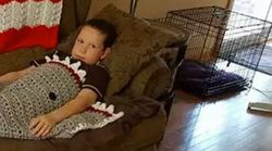 Grandma Makes Boy Shark Blanket With An NSFW