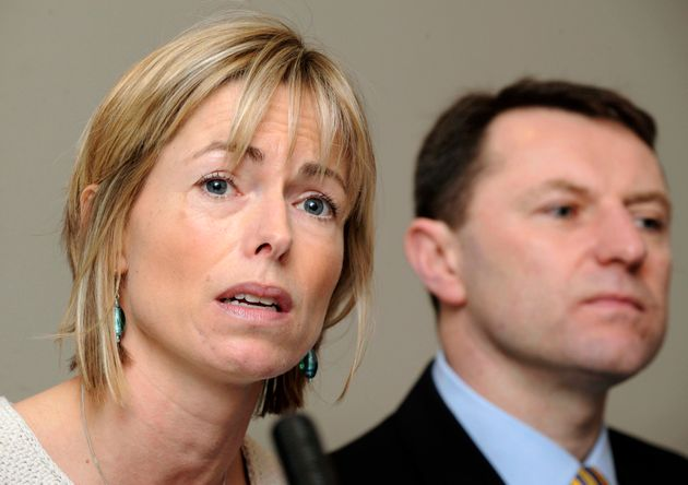 Kate and Gerry McCann have vowed never to give up the search for their