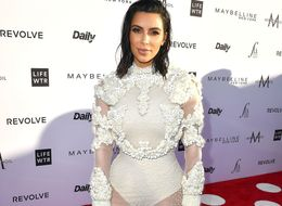 Kim Kardashian Is Giving Us All Wedding Day Vibes In Her Sheer Couture Gown