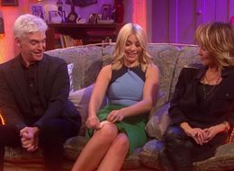 Holly Willoughby Has No Qualms In Flashing Her Underwear To Mrs Brown