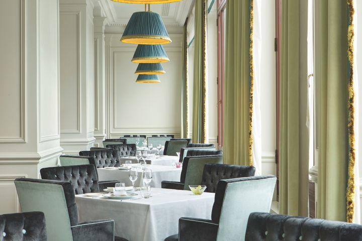 The hotel's Savoy restaurant