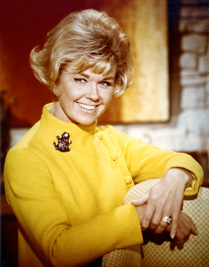 Doris Day, in an undated photo, was pleased to learn of her real age.