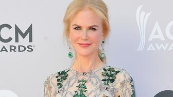 LAS VEGAS, NV - APRIL 02:  Actress Nicole Kidman arrives at the 52nd Academy Of Country Music Awards on April 2, 2017 in Las Vegas, Nevada.  (Photo by Allen Berezovsky/WireImage for Fashion Media )