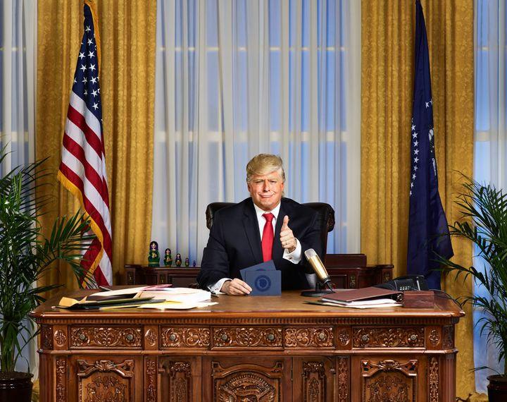 """The President Show"" will be hosted by President Donald Trump, played by Anthony Atamanuik."