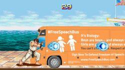 Un videojuego contra el autobús tránsfobo de Hazte
