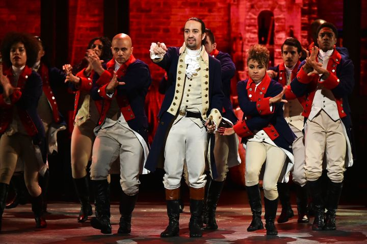 """The songs from the Tony-award winning play, <a href=""""https://www.huffpost.com/topic/hamilton"""" role=""""link"""" data-ylk=""""subsec:paragraph;itc:0;cpos:__RAPID_INDEX__;pos:__RAPID_SUBINDEX__;elm:context_link"""">""""Hamilton,""""</a> are now available in lullaby form."""