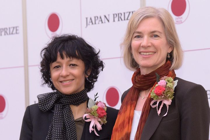 Prof. Emmanuelle Charpentier and Dr. Jennifer Doudna, Awarded the 2017 Japan Prize this month for CRISPR-Cas9.