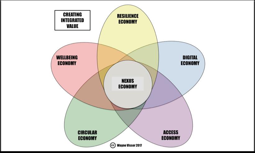 Source: Wayne Visser (2017) Nexus Economy Framework