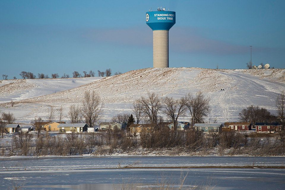 Standing Rock Reservation in Fort Yates, North Dakota.