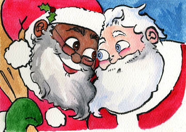 Written by Daniel Kibblesmith, <i>Santa's Husband</i> will hit retailers in October.