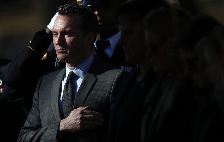 Eric Fanning was the first openly gay Army secretary.