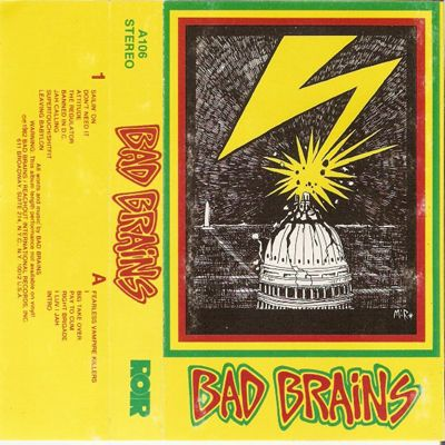 Bad Brains infamous ROIR cassette