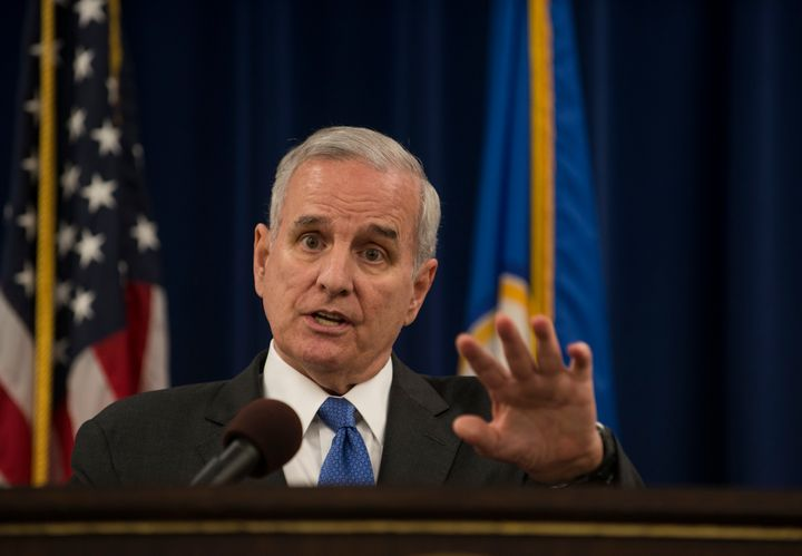 Minnesota Gov. Mark Dayton said Republicans and Democrats in his state agreed they needed to find health care solutions.