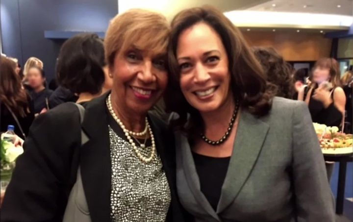 """Senator Harris and I used to have these little telephone chit-chats because we were political junkies,"" says Peete's mom, Do"