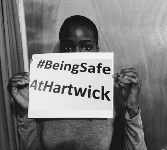 #BeingSafeAtHartwick is a movement to raise awareness about the experiences at Hartwick that are subjected to silence.