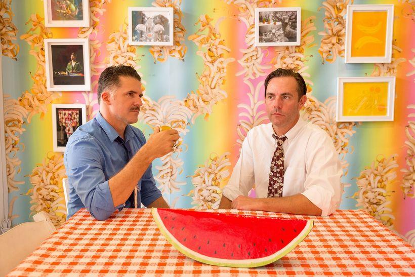 Austin Young and David Allen Burns of Fallen Fruit