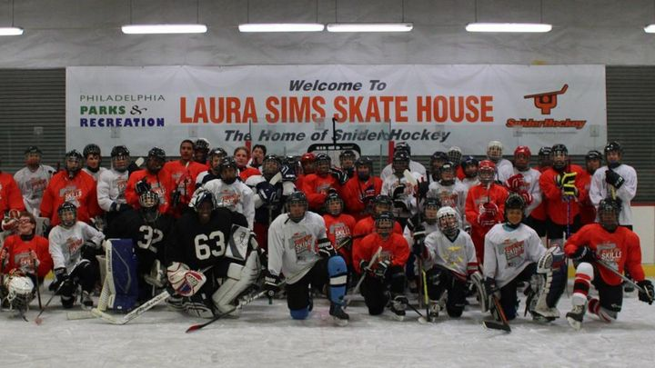 "The <a rel=""nofollow"" href=""http://www.laurasimsskatehouse.org/"" target=""_blank"">Laura Sims Skate House</a> in Cobbs Creek Pa"