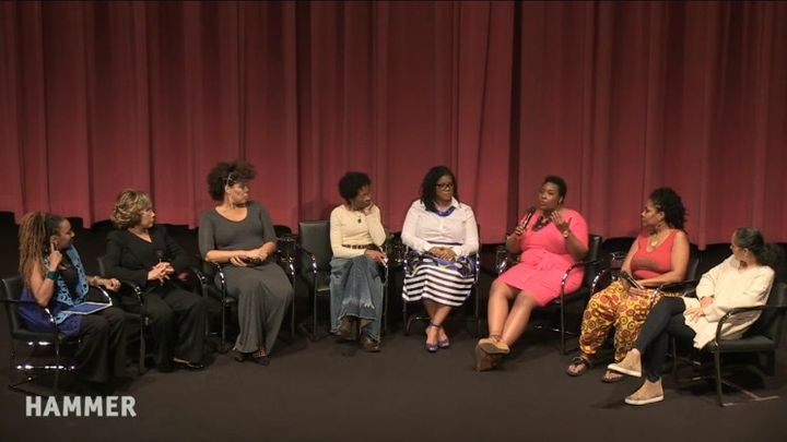 """The Not So Silver Screen: Black Women in Media"" panel discussion at UCLA Hammer Museum"