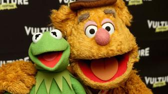 NEW YORK, NY - MAY 21:  Kermit the Frog and Fozzie Bear attend the Vulture Festival at Milk Studios on May 21, 2016 in New York City.  (Photo by Cindy Ord/Getty Images for Vulture Festival)
